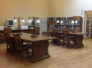 Holyoke History Reading Room at the Holyoke Public Library